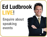 Ed Ludbrook, Keynote Speaking